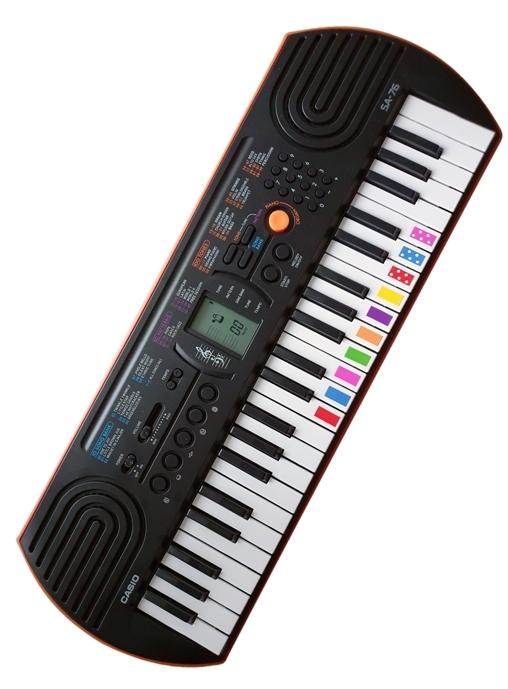 kolorowe Pianino casio SA 76