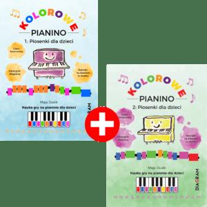 Kolorowe Pianino 2 części książki