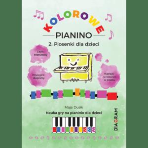 kolorowe pianino 2 zielone diagram