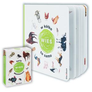 Książka W kółko to samo WIEŚ i Karty Montessori WIEŚ